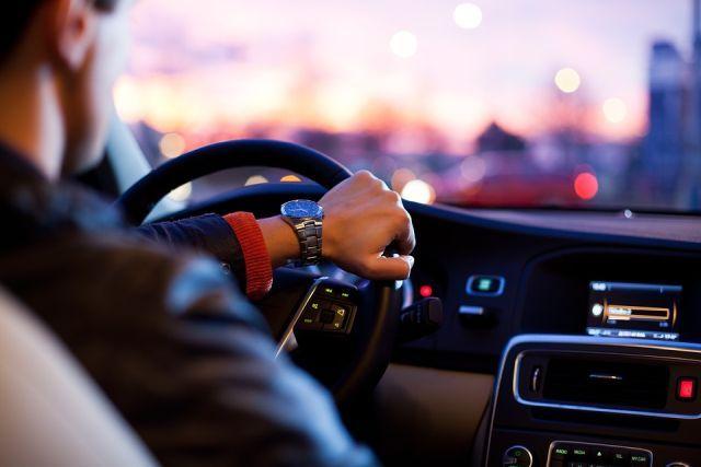 Auto stuur en dashboard