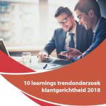 Tien learnings trendonderzoek klantgerichtheid 2018